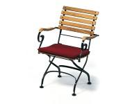 Weishäupl Classic Sitzpolster für Stuhl/Sessel Weiß Dolan